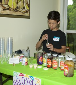 Christian making Halo Halo